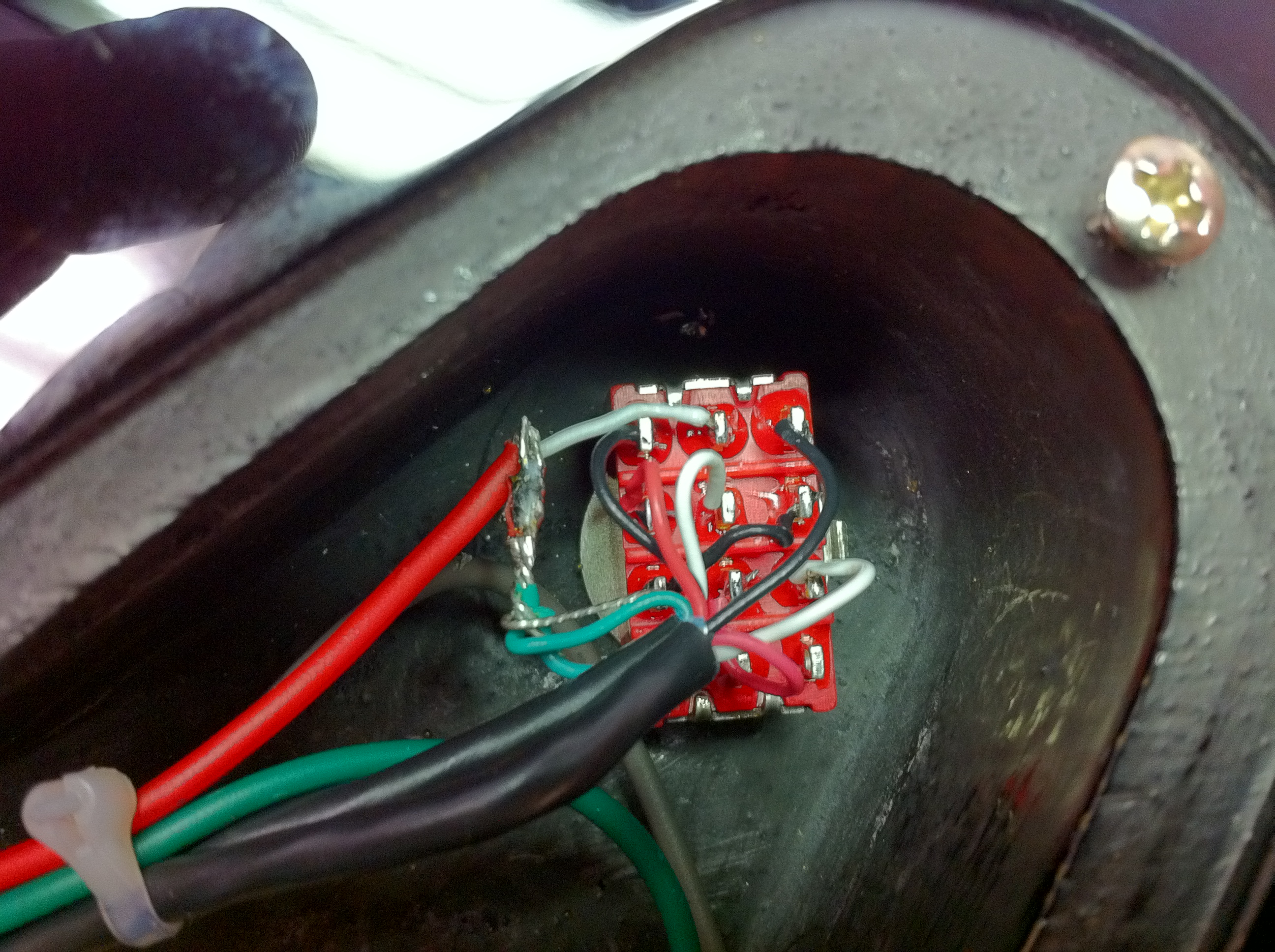 Gc Gallery 4pole 3way Switch Wiring Complete Custom Rewire Close Up